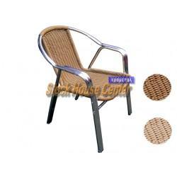 Καρέκλα Aluminum-Rattan