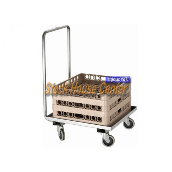 Καρότσι μεταφοράς για καλάθια 50x50 cm