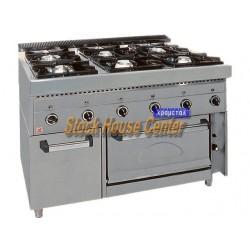Κουζίνα αερίου FGASE6