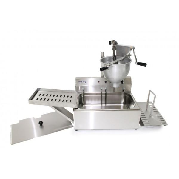 Μηχανή λουκουμά-λουκουμαδιέρα χειροκίνητη Interzag 1011F