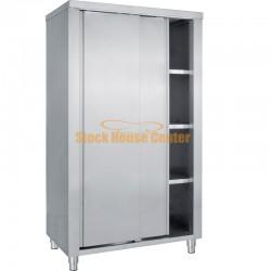 Ερμάριο ντουλάπα ανοξείδωτο 100x70x200
