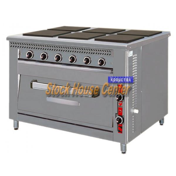 Κουζίνα ηλεκτρική F80E6