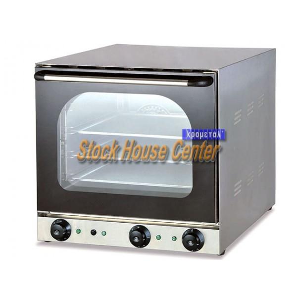 φούρνος σφολιάτας ηλεκτρικός 4 θέσεων fiore40g με grill
