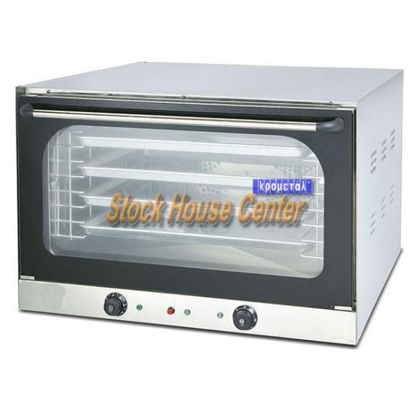 φούρνος σφολιάτας φαγητού ηλεκτρικός 5 θέσεων fiore60g με grill