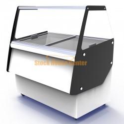 Ψυγείο παγωτού 9 Θέσεων,Crystal ATHENA 9