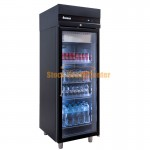 Ψυγείο θάλαμος συντήρηση CASB172/GL μαύρο χρώμα