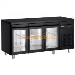 Ψυγείο πάγκος Συντήρηση PNRΒ999/GL σε μαύρο χρώμα
