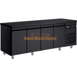 Ψυγείο πάγκος Συντήρηση PNRB9999 μαύρο χρώμα