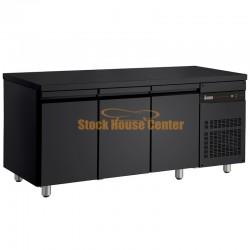 Ψυγείο πάγκος Συντήρηση PNRB999 μαύρο χρώμα
