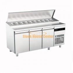 Ψυγείο πίτσας-σαλατών INOMAK 179x70x86cm