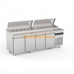 Ψυγείο πίτσας-σαλατών INOMAK 224x70x86cm
