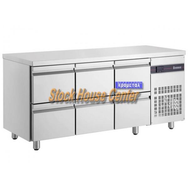 Ψυγείο πάγκος Συντήρηση με συρτάρια PNN222
