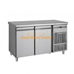 Ψυγείο πάγκος 139x70x85 με 2 πόρτες PG139