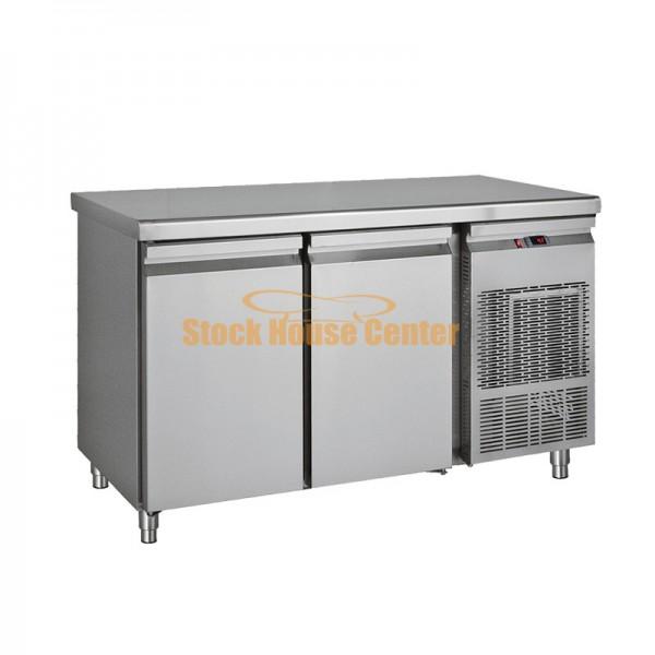 Ψυγείο πάγκος κατάψυξη 139x70x85 με 2 πόρτες PGK139