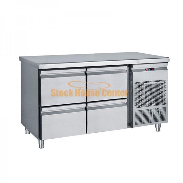 Ψυγείο πάγκος 139x70x85 με 2 πόρτες PG139S