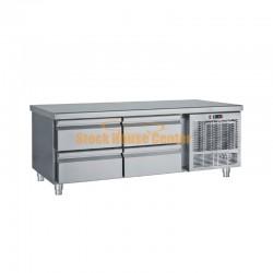 Ψυγείο χαμηλό με συρτάρια Bambas PS139