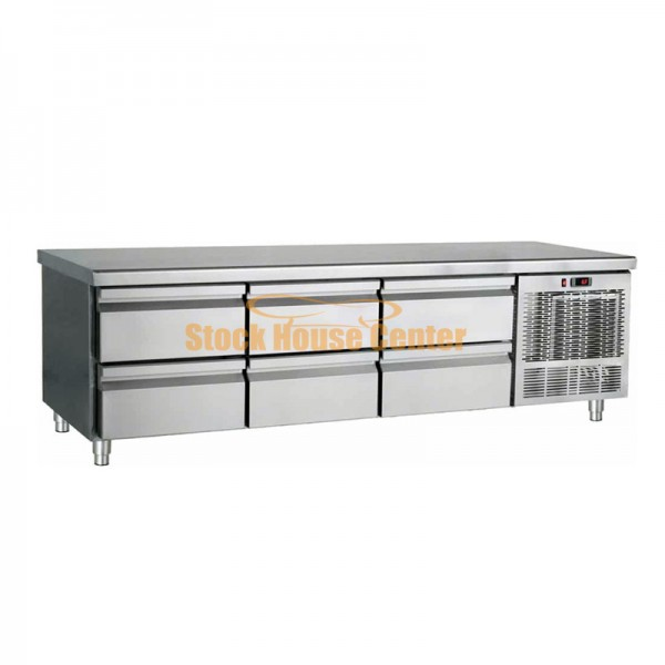 Ψυγείο χαμηλό με συρτάρια Bambas PS185